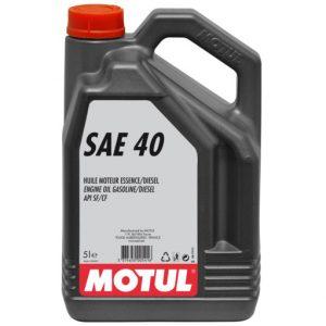 MOTUL SAE 40 5L