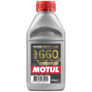MOTUL RBF 660 FACTORY LINE RACING BRAKE FLUID 500ML